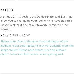 Kendra Scott Jewelry - Kendra Scott Denise Earrings in Lilac